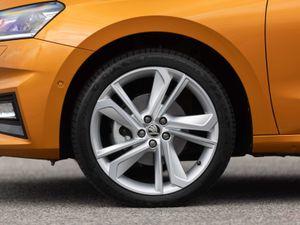 Skoda Fabia wheel