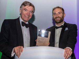 Rt Hon Philip Dunne MP with BusinessGreen Deputy Editor, Michael Holder