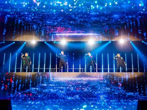 Westlife at Birmingham Arena - in PICTURES