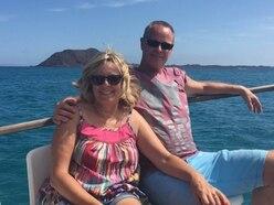 Shropshire couple in coronavirus lockdown in the Canaries