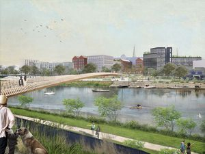 An artist's impression of how the redevelopment may shape up