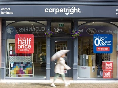 Jobs under threat as Carpetright plans closure of loss-making stores