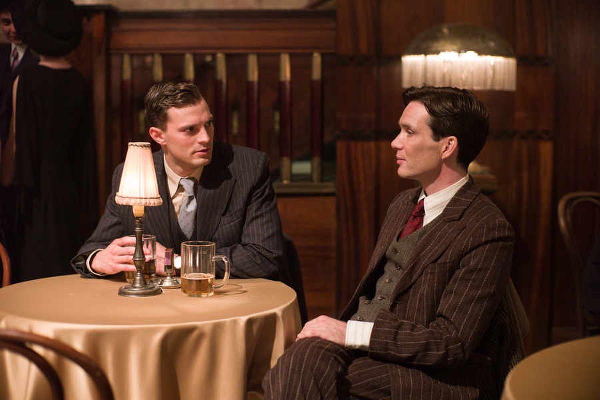 Jamie Dornan and Cillian Murphy in the film