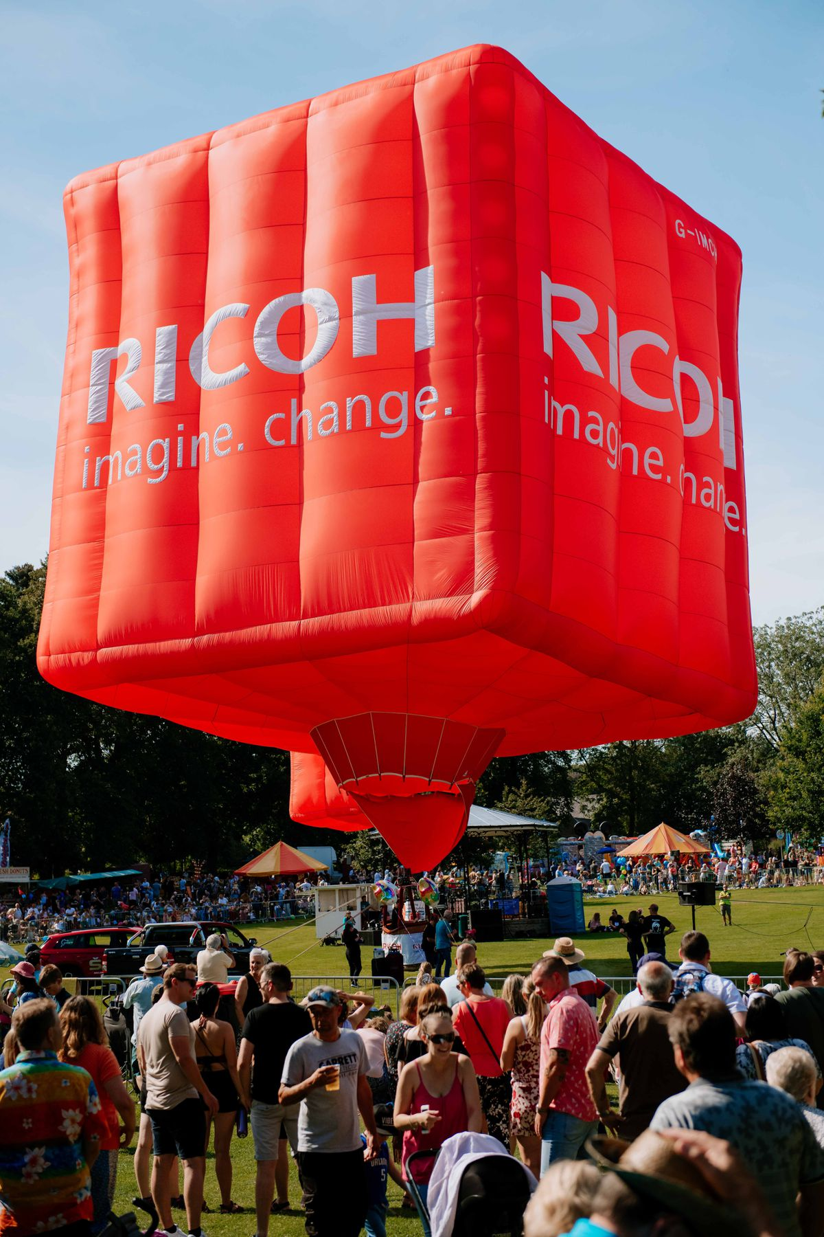 Oswestry Balloon Carnival at Cae Glas Park