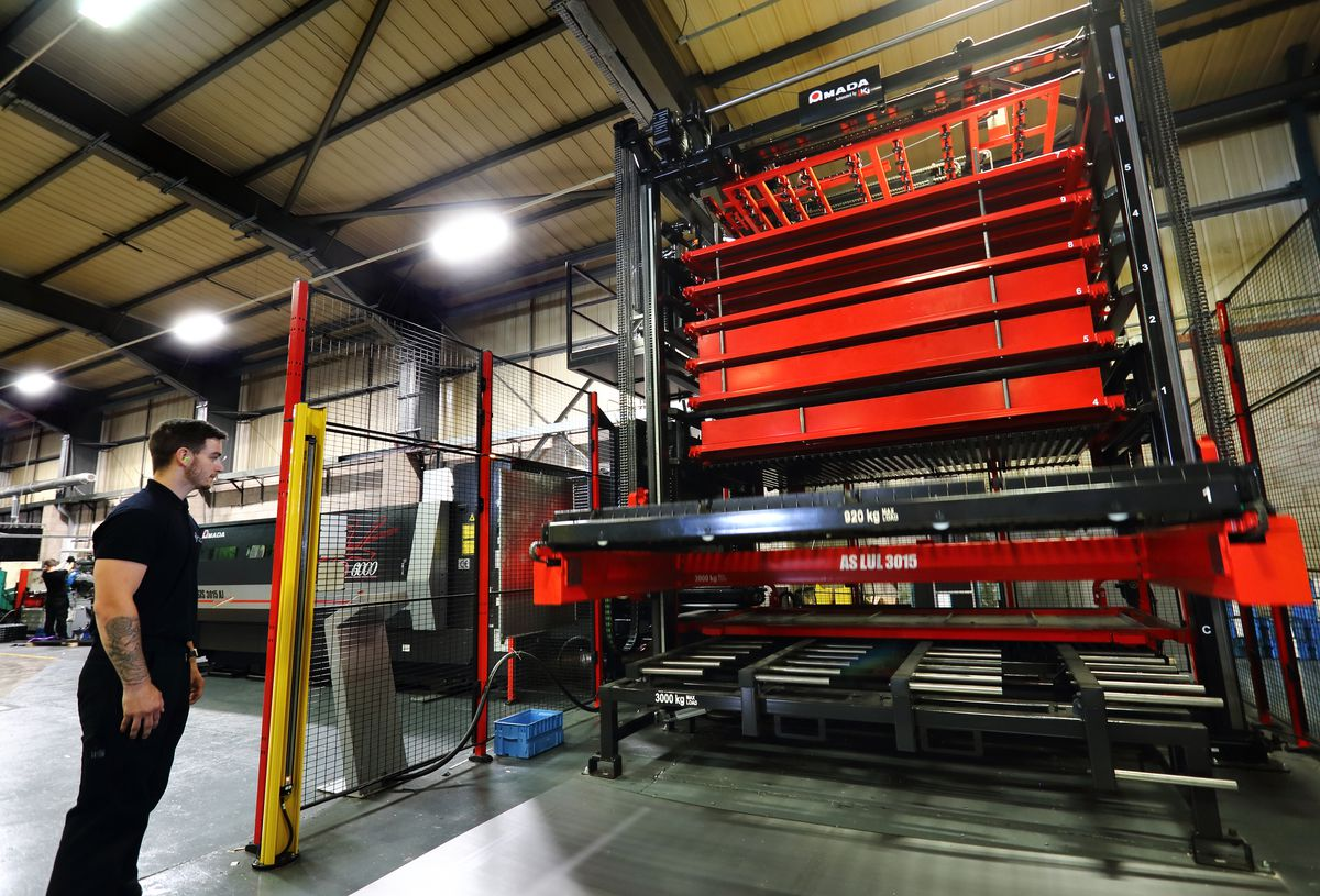 The investment in new equipment has taken the company into the laser cutting market