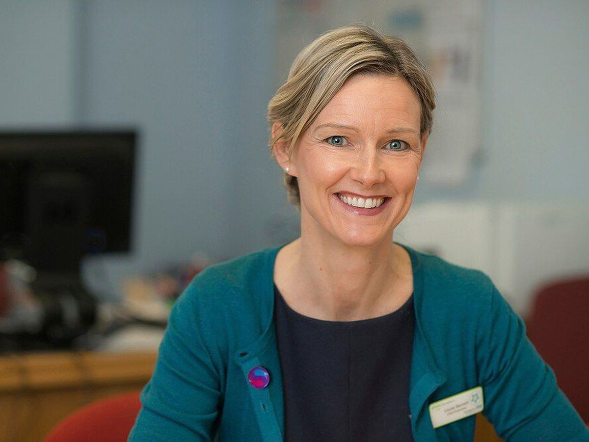 Louise Barnett, chief executive of The Shrewsbury and Telford Hospital NHS Trust