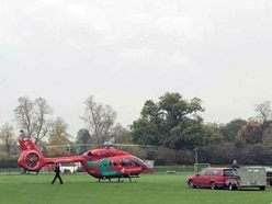 Man airlifted with serious injuries after accident at Chirk AAA sports ground