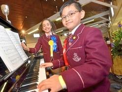 Hundreds of musicians perform at Shropshire festival