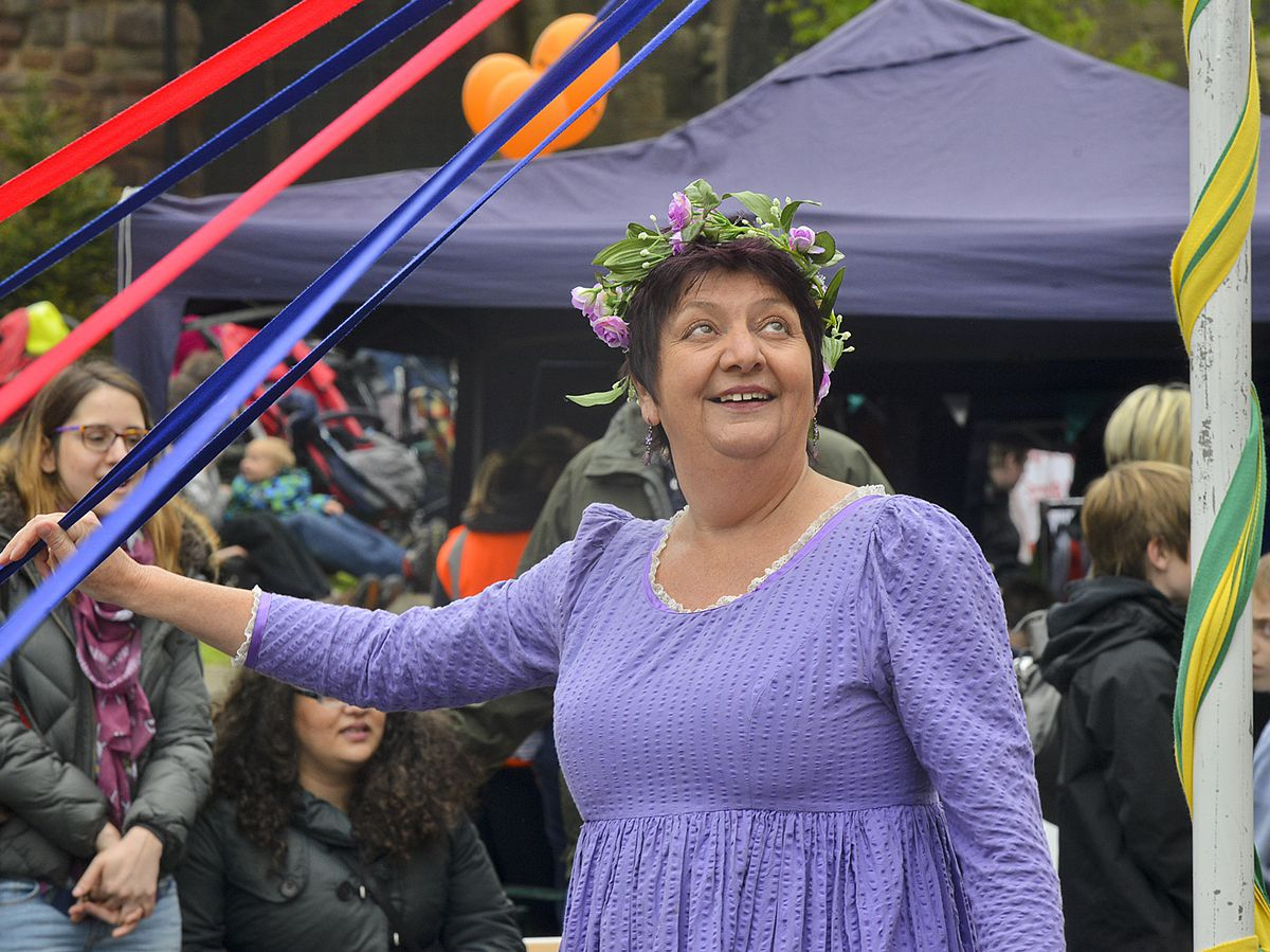 Maypole dancing is a popular May Day tradition