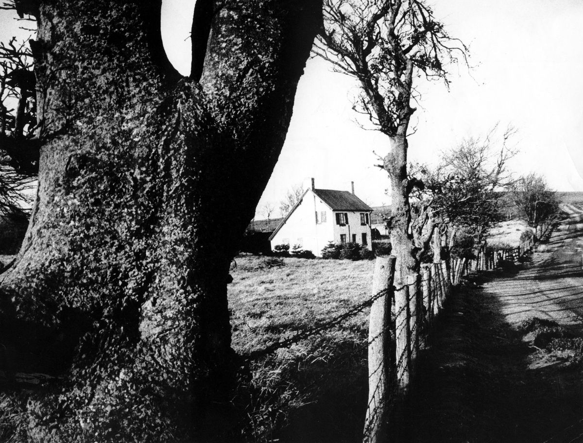 A view of Shropshire's highest home in November 1964.