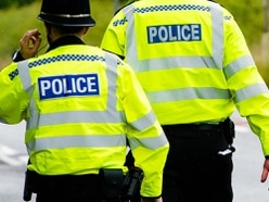 Arrest after man 'threatened with axe' near Shropshire border