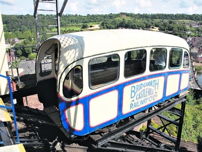 Bridgnorth Cliff Railway set to reopen today - with video