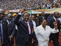 Zimbabwe's new leader Emmerson Mnangagwa sworn in