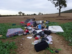 Fly-tippers lacking any common sense