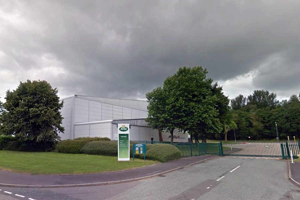 Dairy giant arla investing in oswestry site as part of 72 for Star city motors lincoln ne