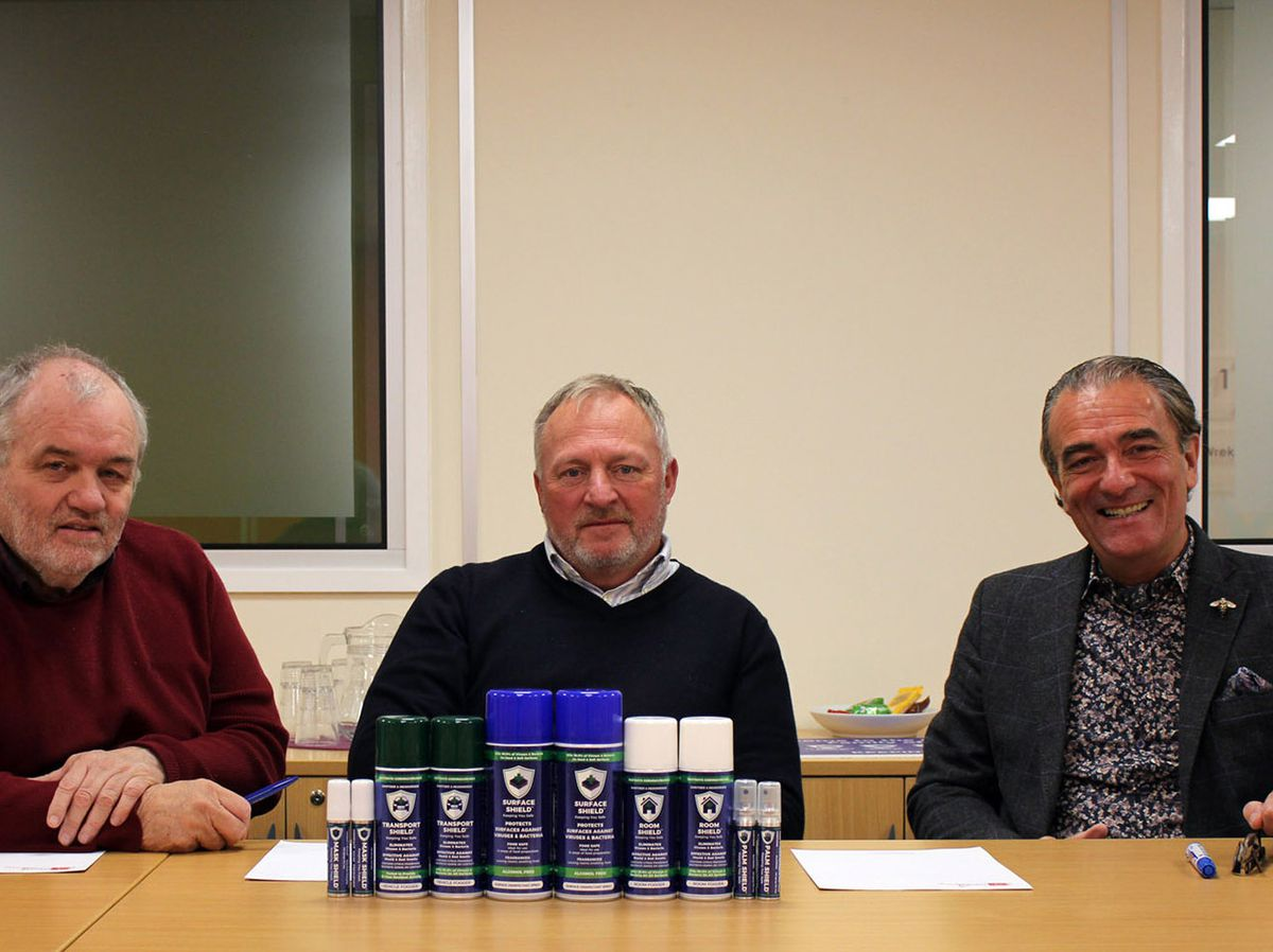 John Donnelly, Dave Williams and Kevin Parr