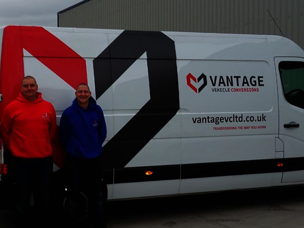 Mark Cheshire and Karl Broomhall of Vantage VC