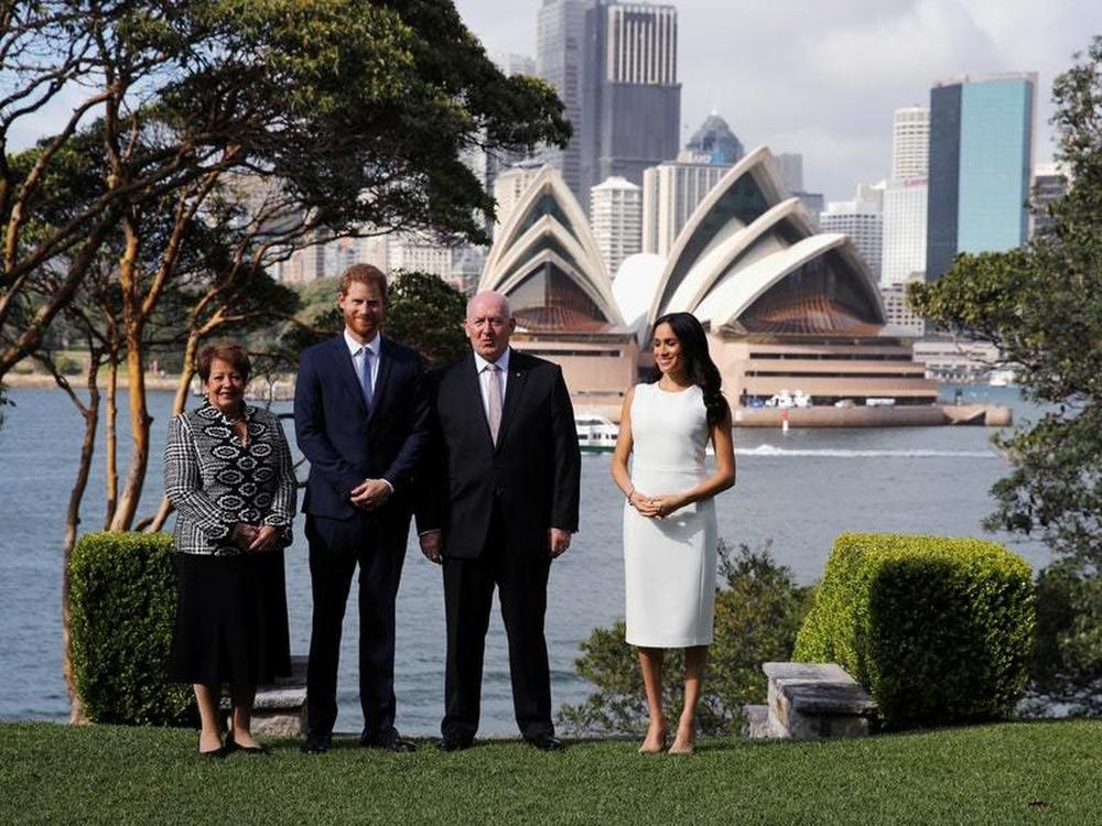 Royal tour of Australia – Day One