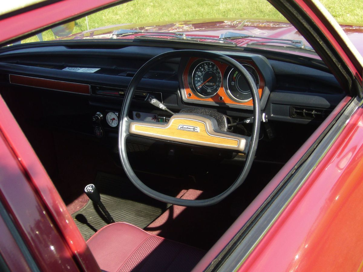 Austin Allegro – why would anyone want a square steering wheel?