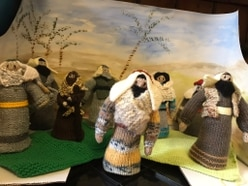 Cuddly bible scenes on display at Market Drayton church