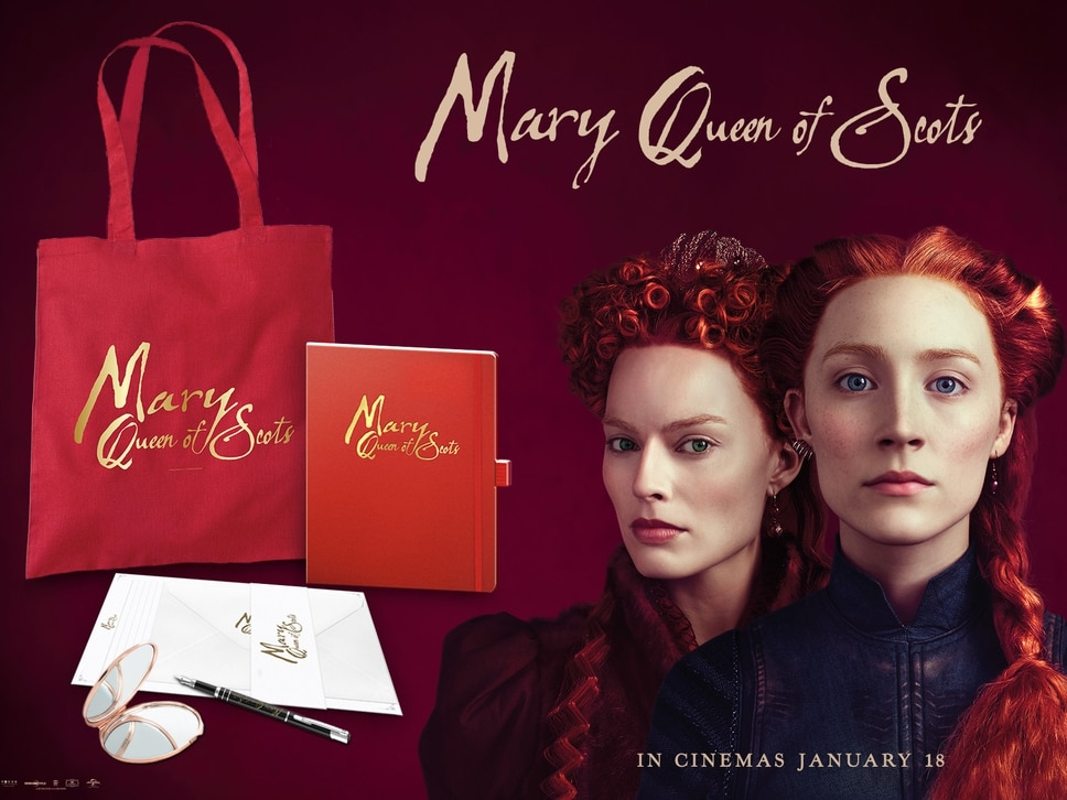 WIN: A Mary Queen of Scots merchandise package