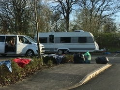Oswestry travellers issued with order to move on