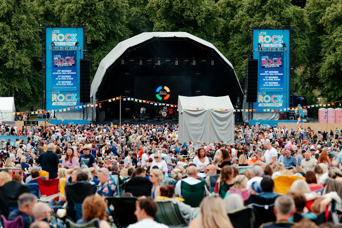 Crowds pack in for Let's Rock Shrewsbury 2019