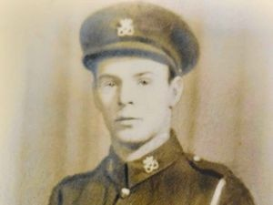 Les Cherrington in his army days