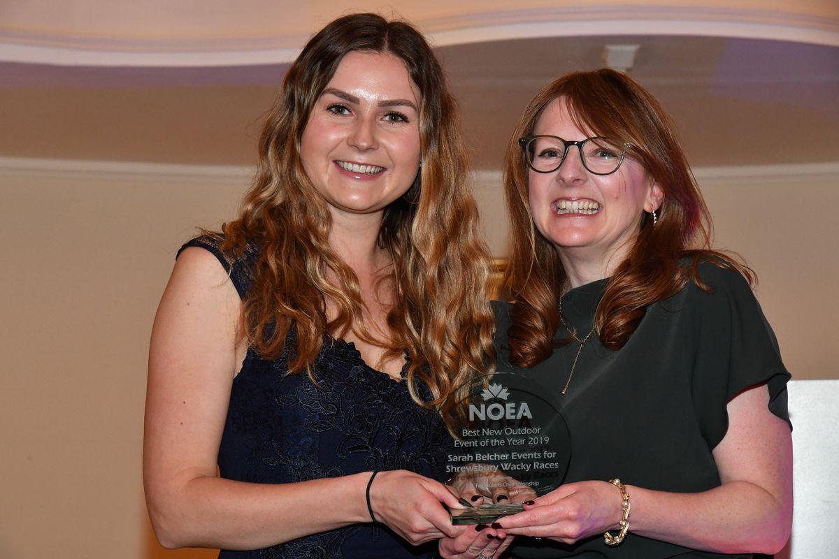 Iona Neilson with Sarah Belcher