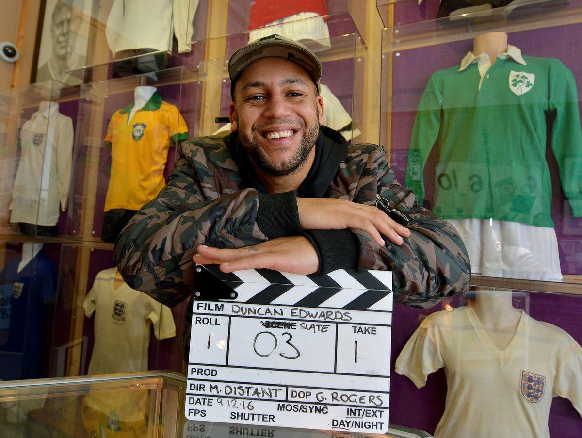 Filmmaker Marcus Distant