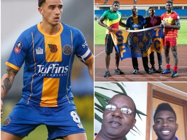 Grenada's love for Shrewsbury Town is a Caribbean fairytale