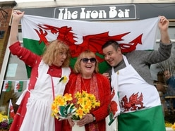 A patch of Wales in Broseley for St David's Day