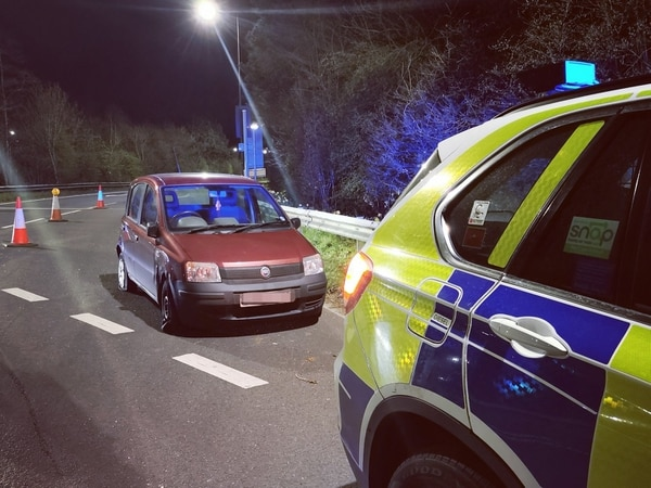 Car believed to have been used in county lines drug dealing stopped in Telford