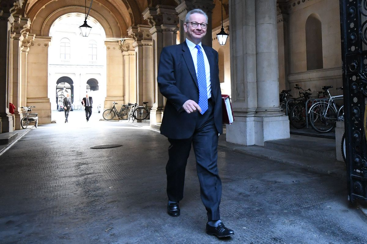 Gove carried on, but nobody was listening – and nobody was believing a word he said.