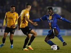 Shrewsbury Town and Aaron Pierre charged with violent conduct