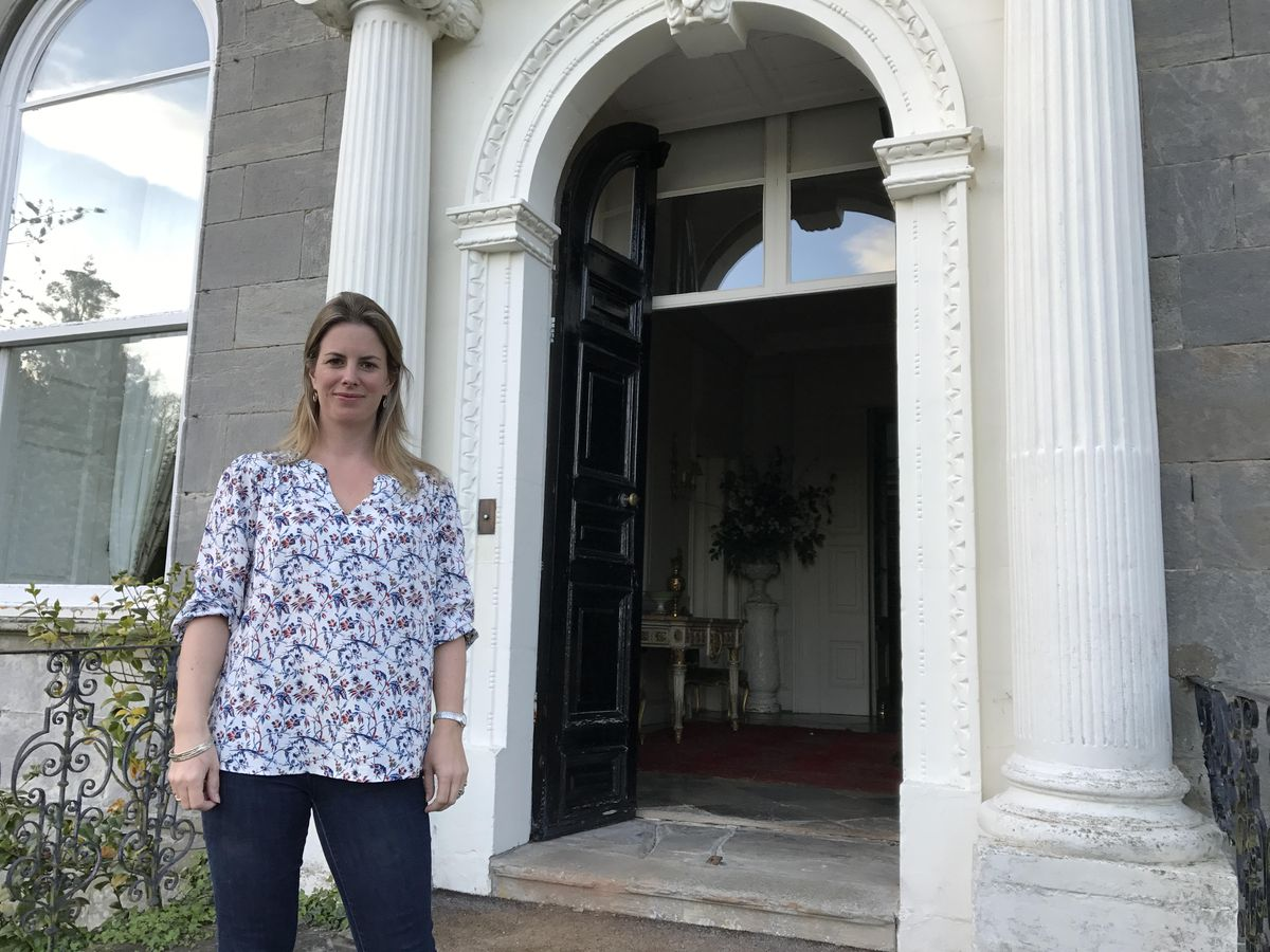 Hettie Fenwick will be taking people on a tour of her home, Aldenham Park, near Bridgnorth