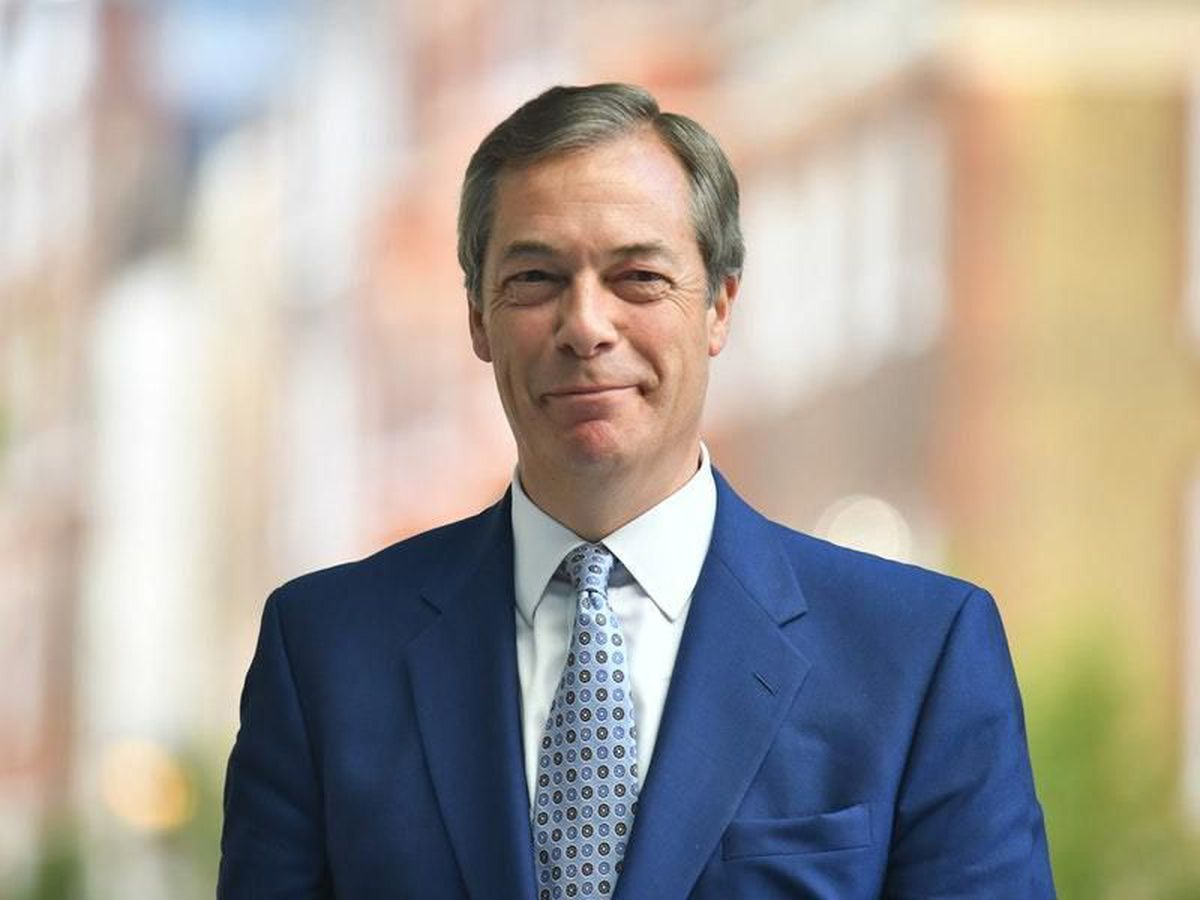 Nigel Farage is due to speak at a Brexit Party rally in Telford on September 20.