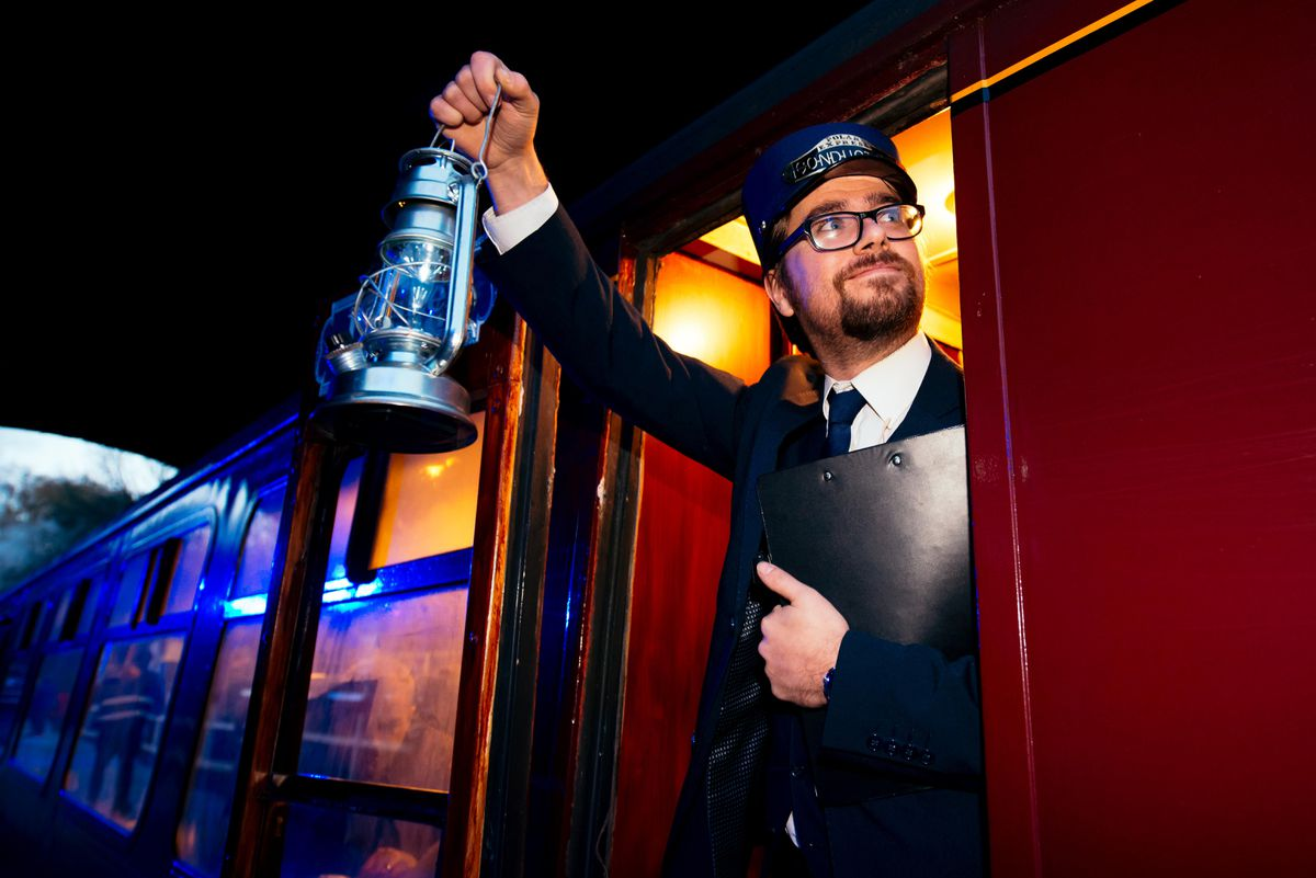 The Polar Express is going to be steaming into Telford