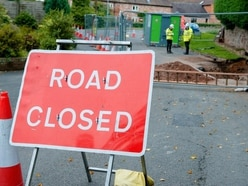 Road near Newport could be closed all month after pipe collapse