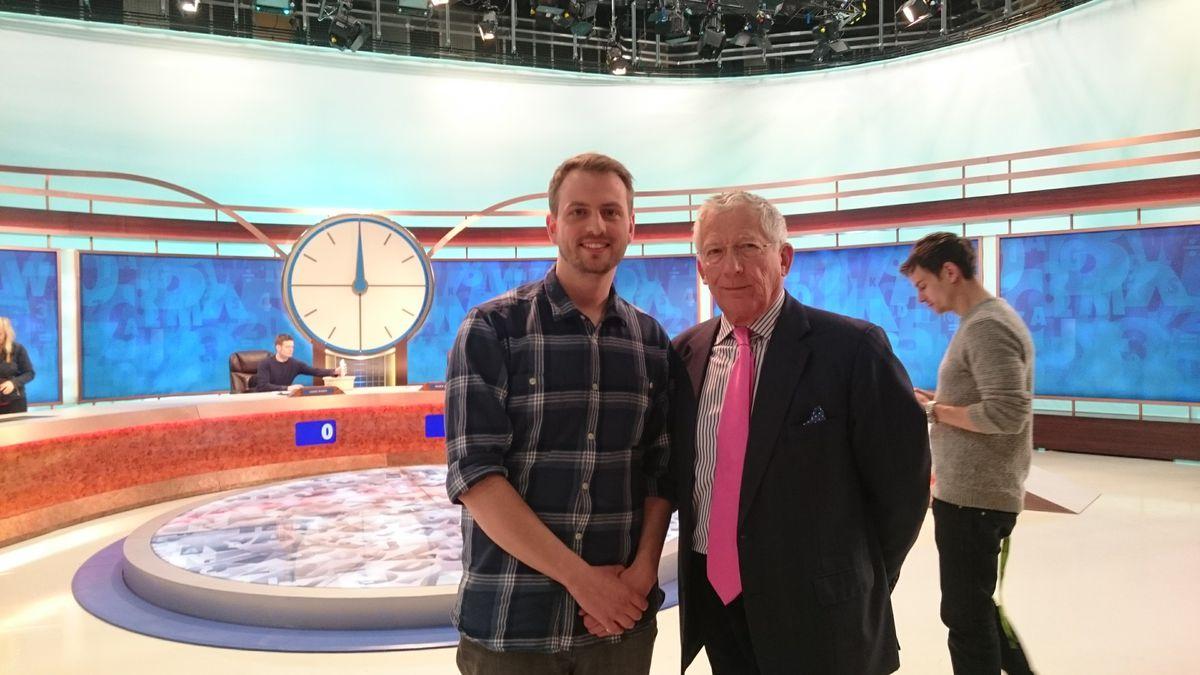 With presenter Nick Hewer