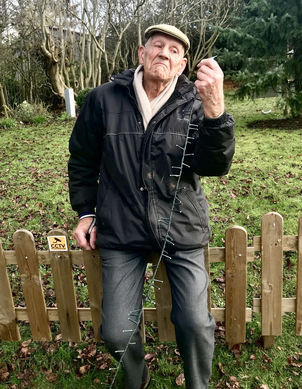 Peter Young, 79, organiser of the Sheriffhales Christmas display, heartbroken over the theft