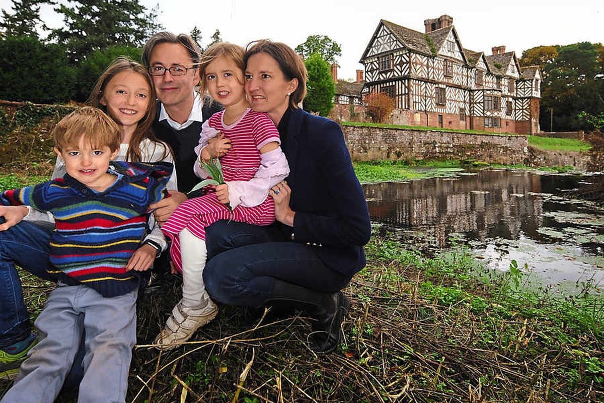 Fairytale Shropshire home awakens as family returns home to mansion - video and pictures