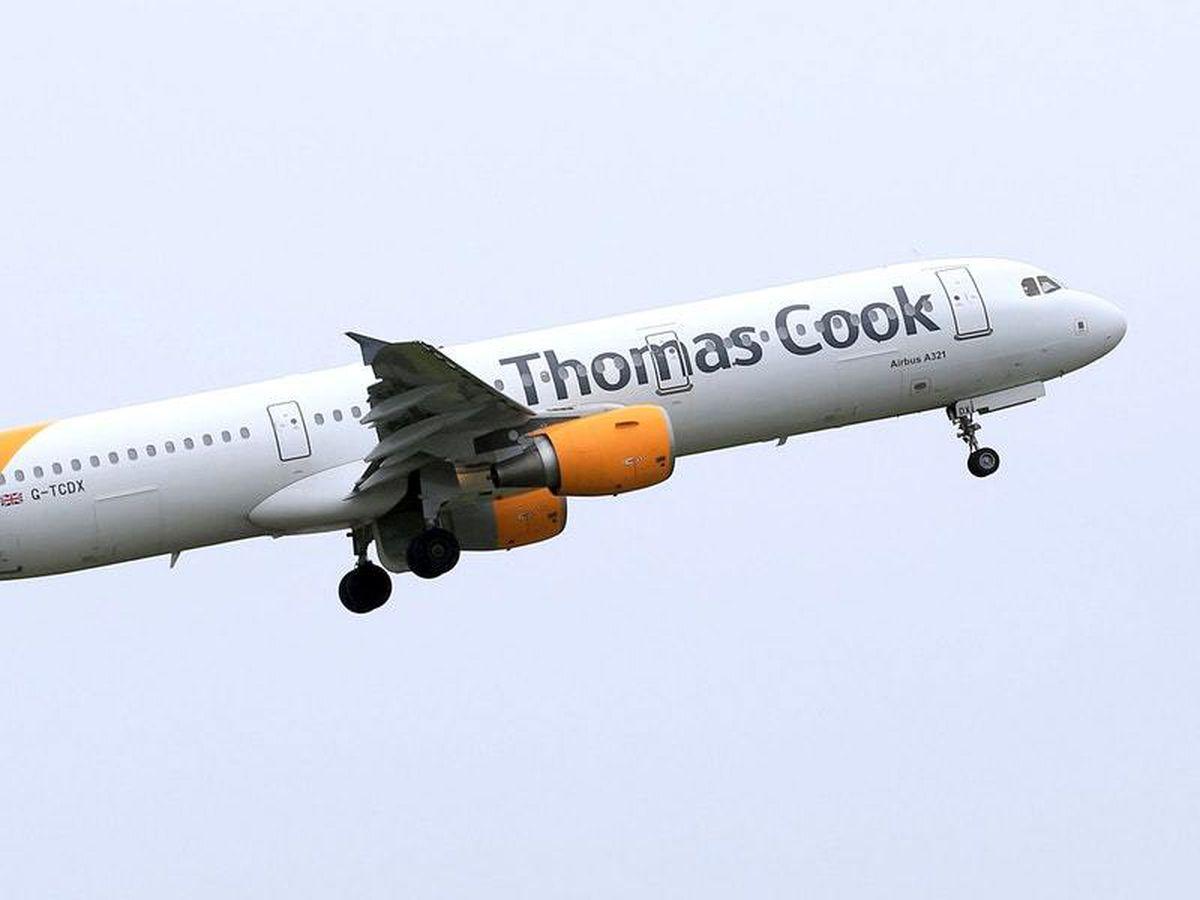Thomas Cook-branded plane