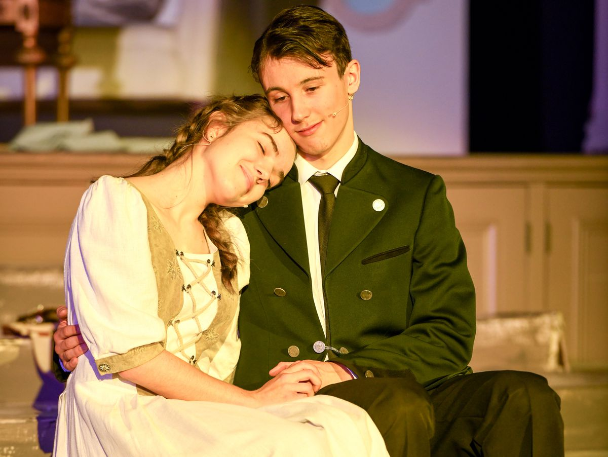 Wrekin College staged a run of live performances of the musical Sound of Music
