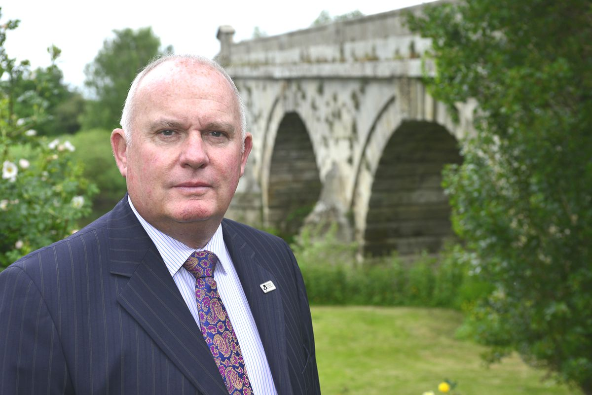 Richard Sheehan, chief executive of Shropshire Chamber of Commerce