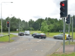 Traffic lights to stay at busy Telford roundabout