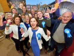 Landslide: Clean sweep for Shropshire Tories as they score increased majority in every seat