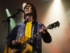 Richard Ashcroft's eyes lit up as his adoring crowd sang back very word of his biggest anthems. Picture: Eleanor Sutcliffe