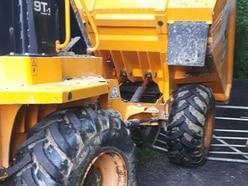 'Slow pursuit': Arrest after stolen plant machinery stopped near Telford beauty spot
