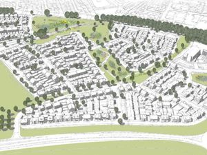 An artist's impression of new homes planned for land west of Station Road, Newport. Photo: Bloor Homes Ltd